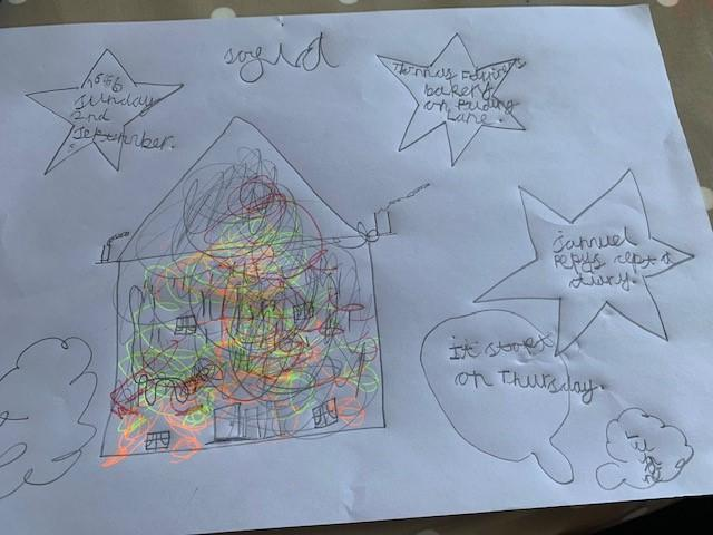 A fantastic poster on the Great Fire of London!