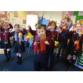 Look at the puppets we have made