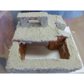 A re-created authentic Ancient Egyptian house