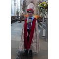 Dressed as a Bishop