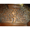Carving of the tree of life