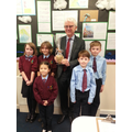 Successful Birdie Brunch team with Norman Lamb MP