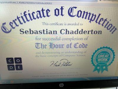 Great coding, Sebastian!