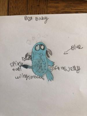 Lovely description by Lucy of the Bog Baby.