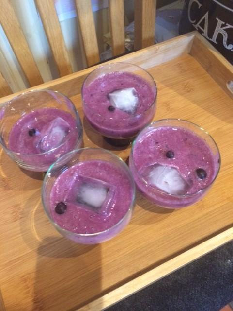 Delicious smoothies from Bonnie