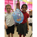 These balloons help us to learn about our globe!