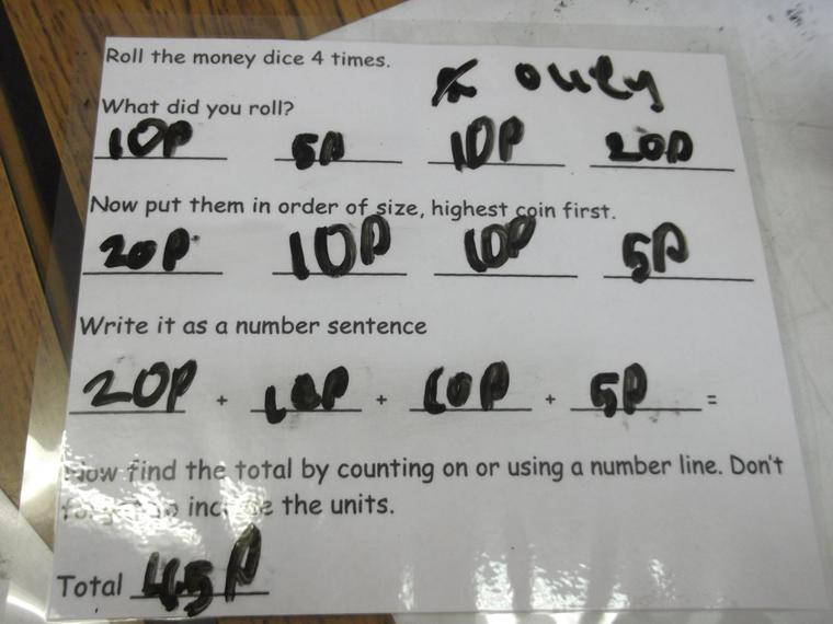 Look at our fantastic maths work!