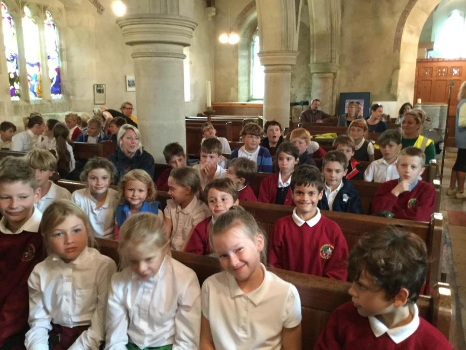 Service at Holy Trinity Church West Lulworth