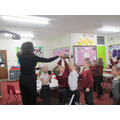 We tried Brazillian dancing and learnt lots today!
