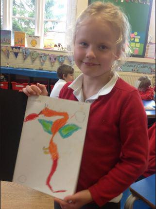 Art inspired by the poem 'The Jabberwocky'.