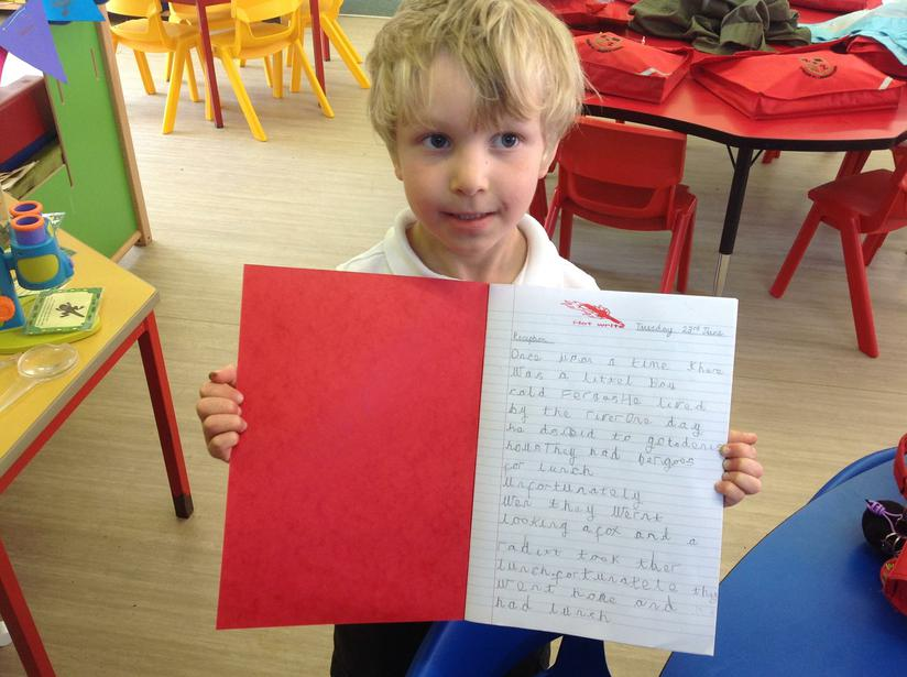 Independent writing!
