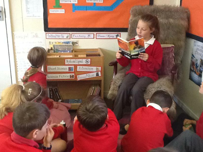 Class read-aloud