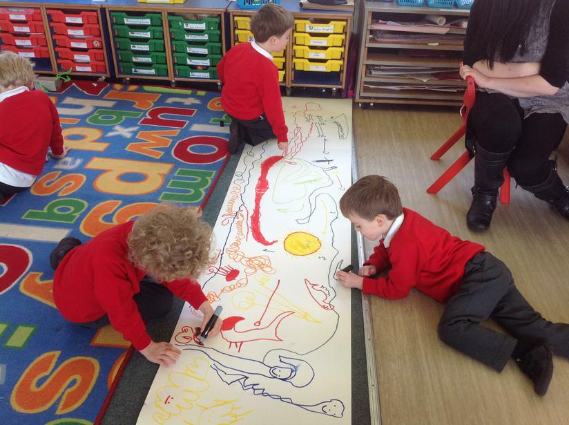 Inventing our own stories using story maps
