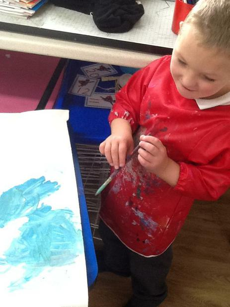 Using art to express and explore.