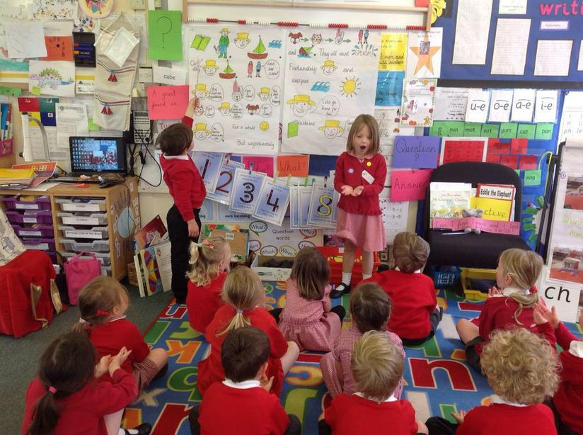 Retelling the story using our 'expert and pointer'