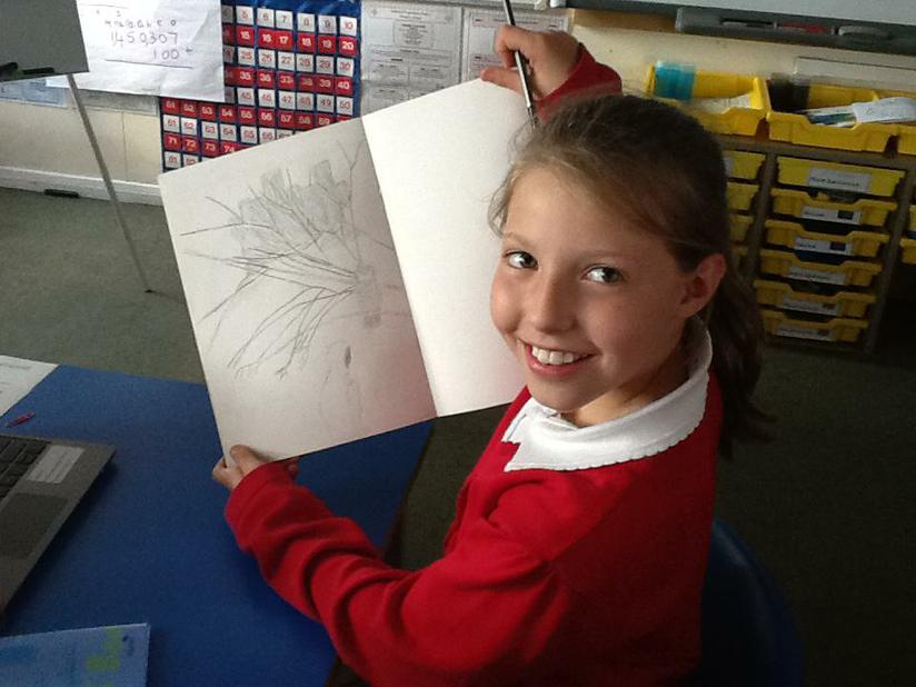Art work inspired by a story