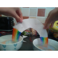 Making a rainbow