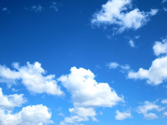 2. God created the sky.