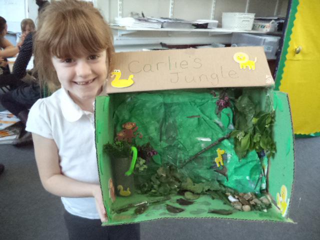 Jungle habitat.