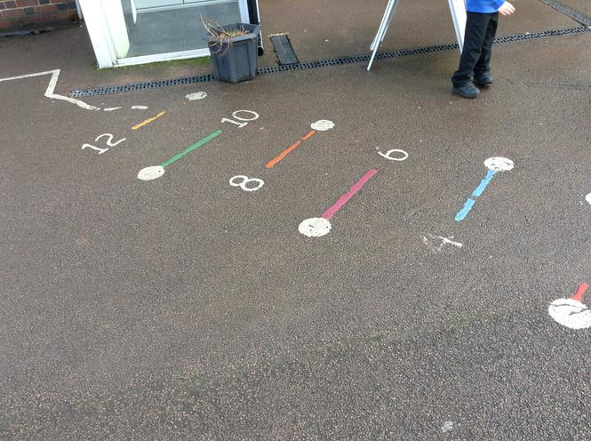 We looked for the number pattern.