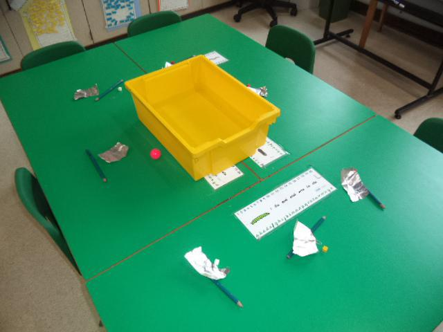 Which materials will sink or float?