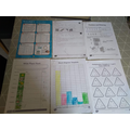 Leo's super maths work from his home learning pack