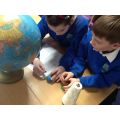 Studying the layers of the earth!