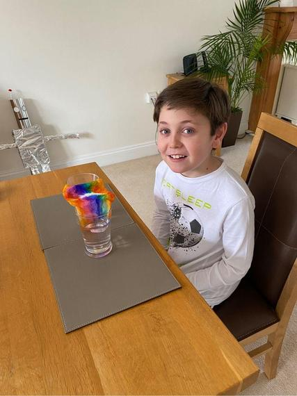 Archie's Science Experiment