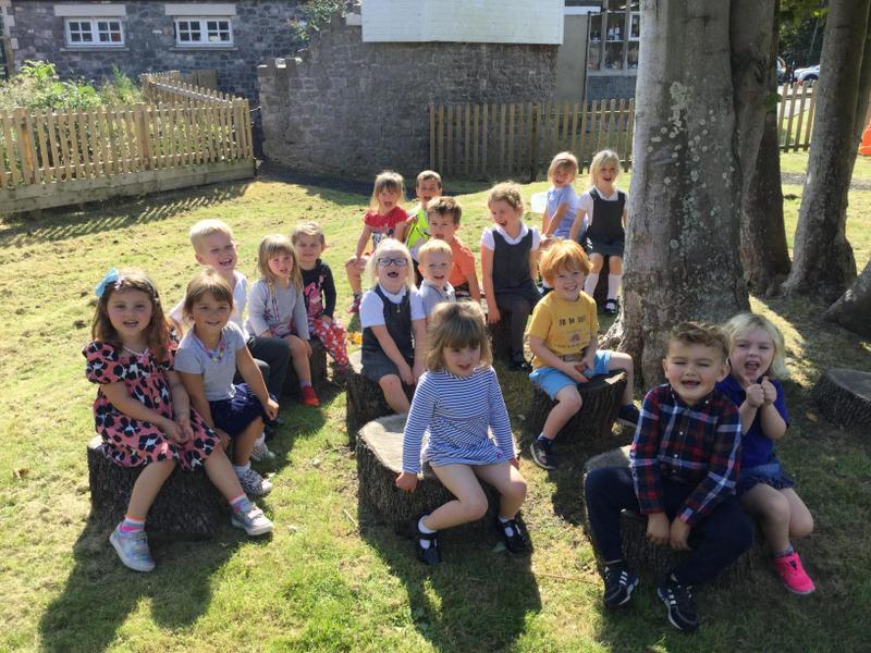 Enjoying some sunshine in the garden Thursday 10th September