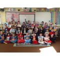We all enjoyed celebrating World Book Day together