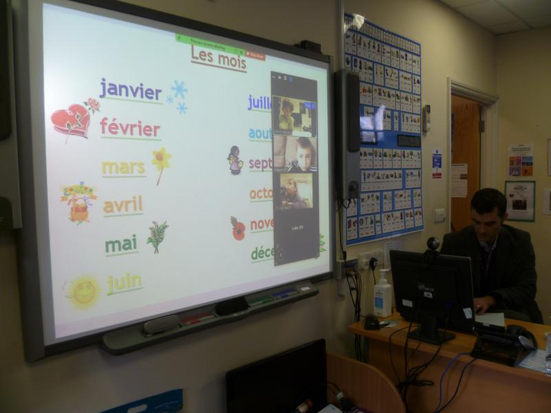 French via Zoom