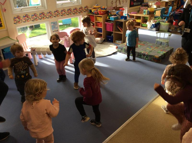 We did some PE sessions with SASP on Tuesday mornings.