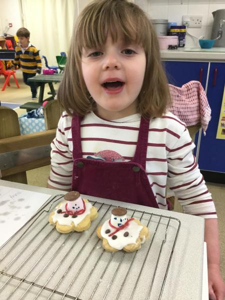 We really enjoyed making our biscuits