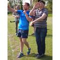 Mr Ranieri's competition: Mr Grace and Mr Peddle!