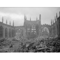 Coventry Cathedral was bombed during WW2