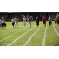 Sports afternoon: parents' race