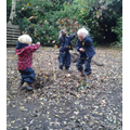Autumn fun in Forest School