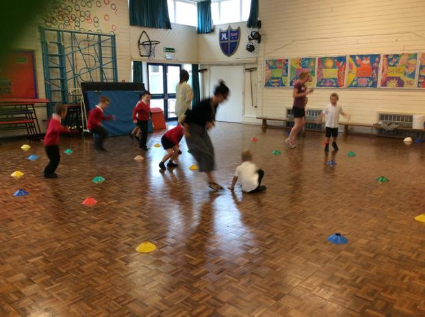 Great Agility work and finding spaces