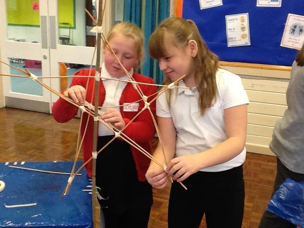 She inspired Chestnut class to make willow lanterns