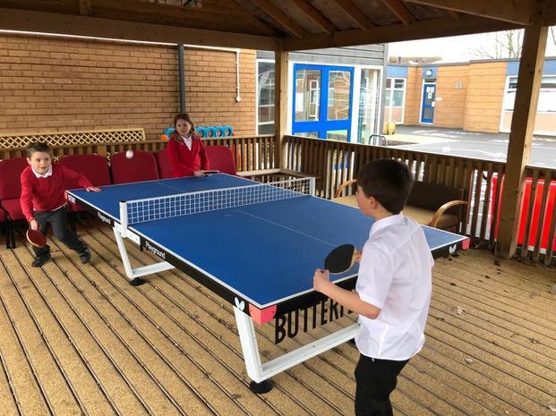 Fancy a bit of table tennis?