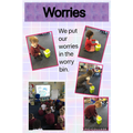 discussing who can help when we are worried.