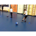 Ball control and passing in P.E.