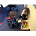 Enjoying maths games with friends and family