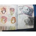 Sketch book details