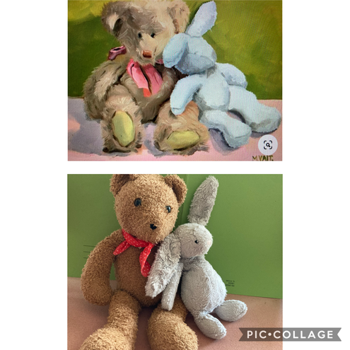 Abigail, your teddies are nearly identical to the original.