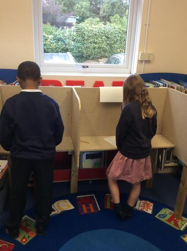 Voting for our school councillors