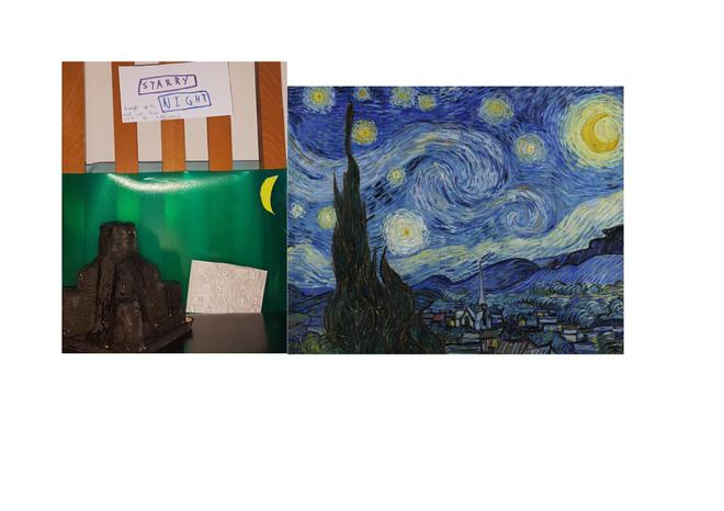 A Starry Night with a twist. Lovely work Paul