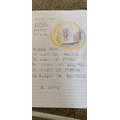 George wrote a beautiful bubble poem!