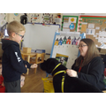 We learnt how to approach dogs safely