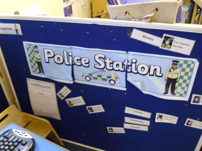 Our Imagination station has a Police Station.